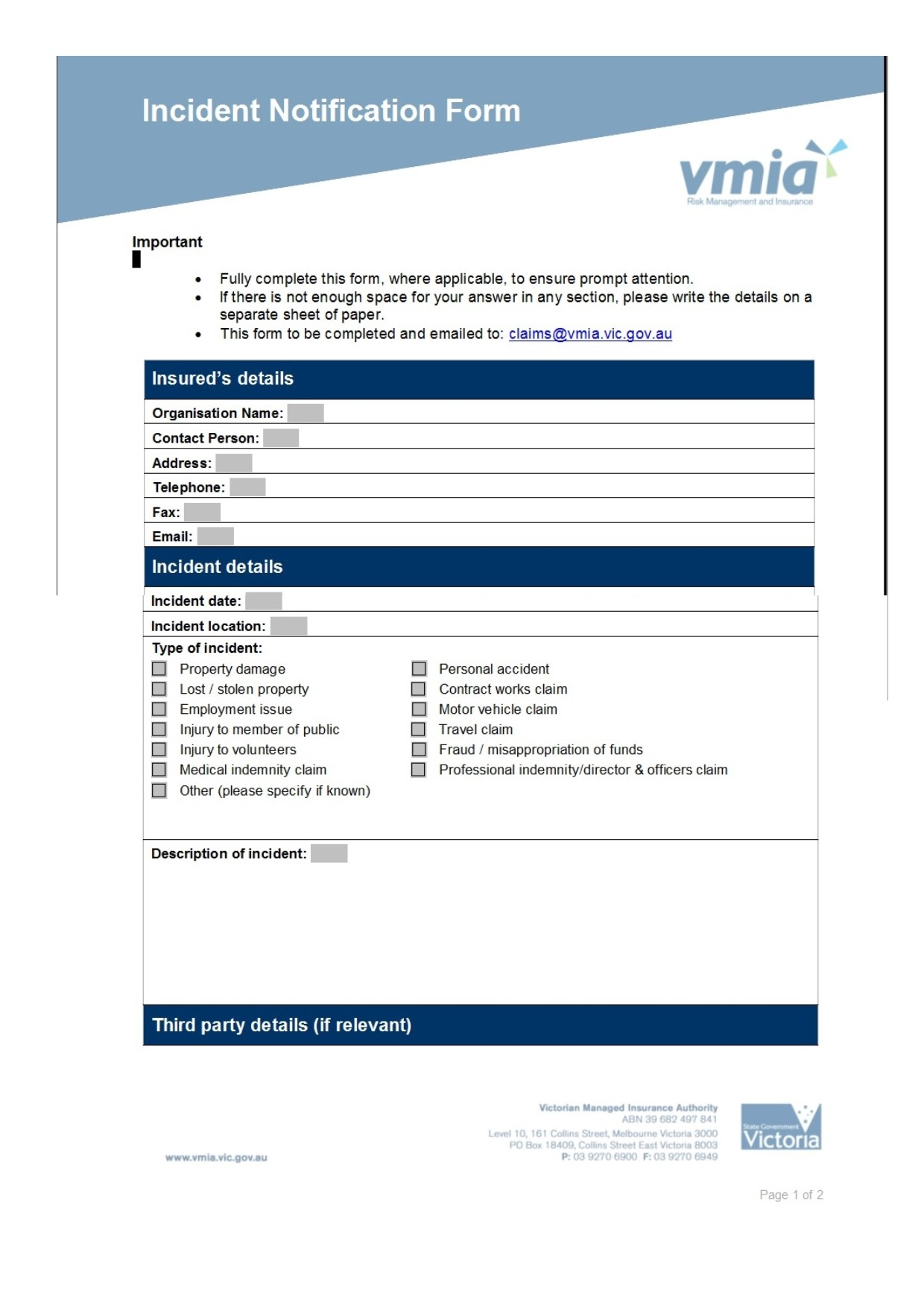 Incident Notification Form pg1