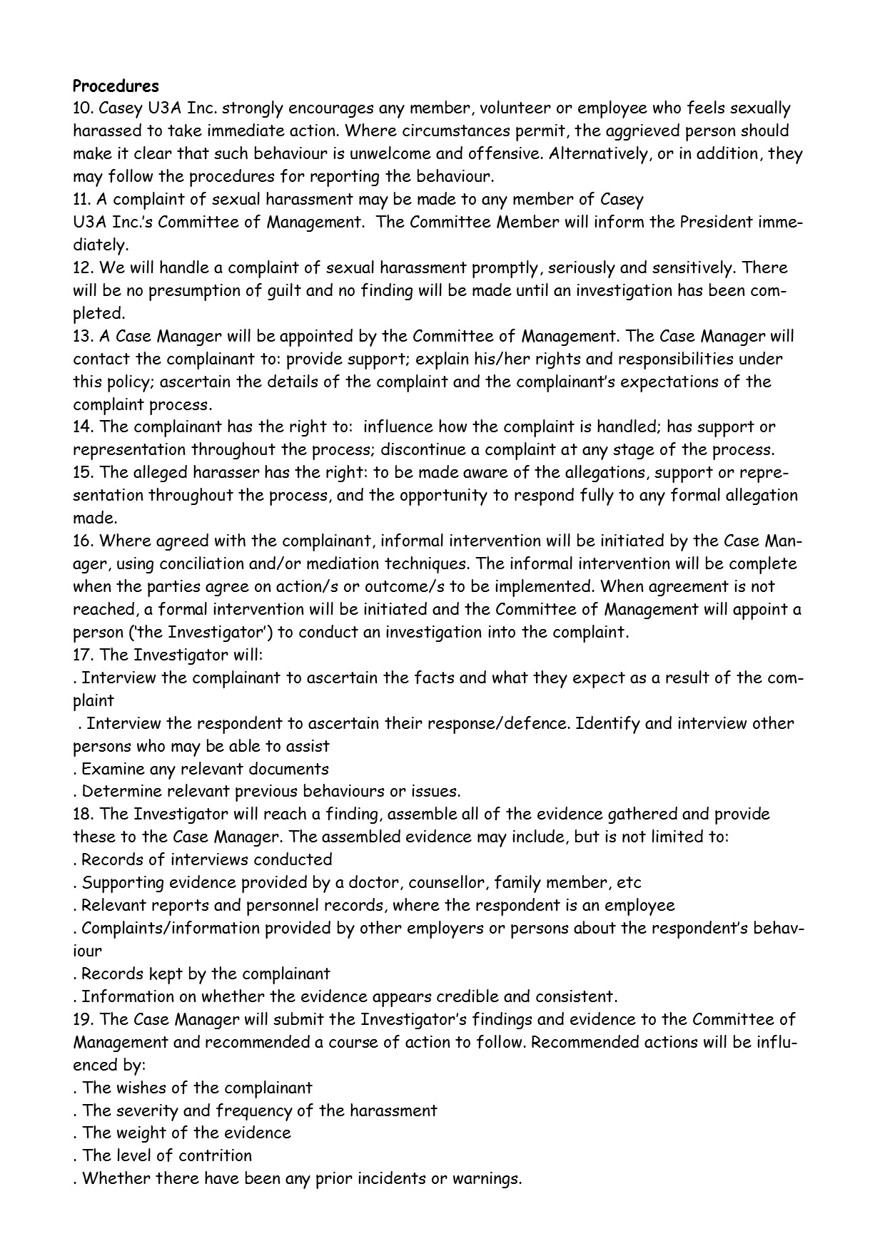Sexual Harassment Policy pg2
