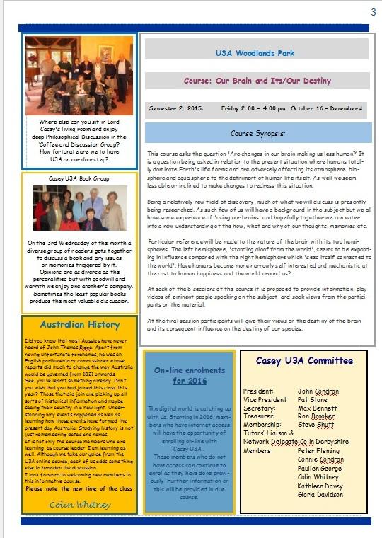 U3A Newsletter pg 3 final